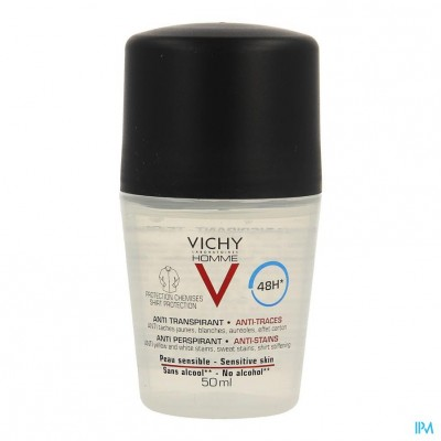 Vichy Homme Deo A/trans A/stre.prot.48h Roller50ml
