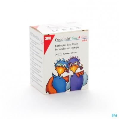 Opticlude 3m Boys&girls Mini Oogkompres 30 2537pe