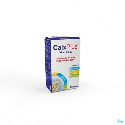 Calx Plus Vitamine D Caps 60