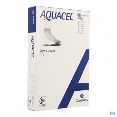 Aquacel Verb Hydrofiber+versterking 2x45cm 5