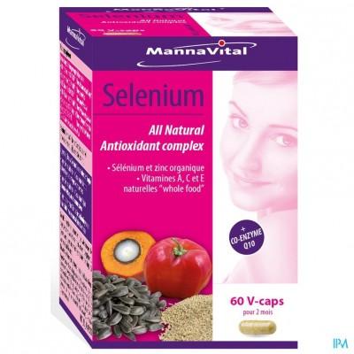 Mannavital Selenium Nf V-caps 60
