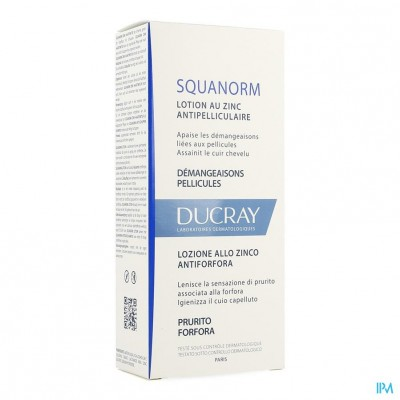 Ducray Squanorm Lotion A/roos Zink Nf 200ml
