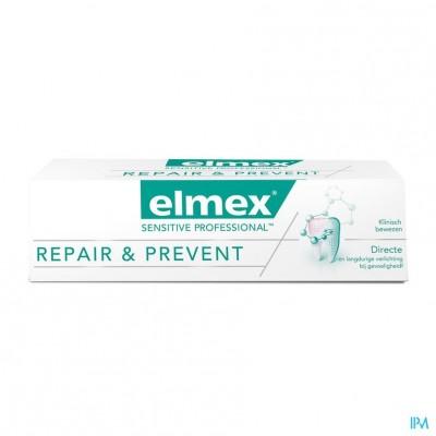 ELMEX® SENSITIVE PROFESSIONAL REPAIR & PREVENT TANDPASTA TUBE 75ML