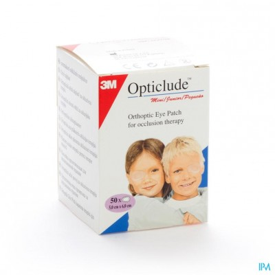 Opticlude 3m Junior Oogkompres 63mmx48mm 50 1537