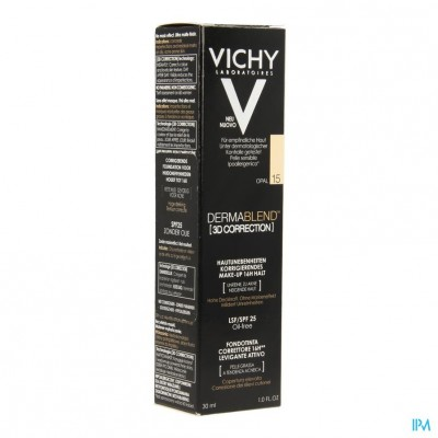 Vichy Fdt Dermablend Correction 3d 15 30ml