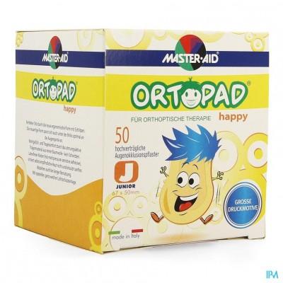 Ortopad Happy Junior Oogkompres 50 70131