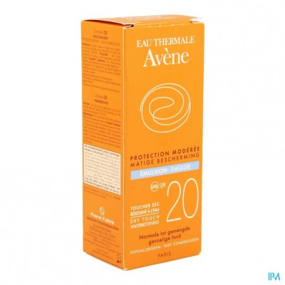 Avene Zon Ip20 Emulsie Z/parabeen 50ml