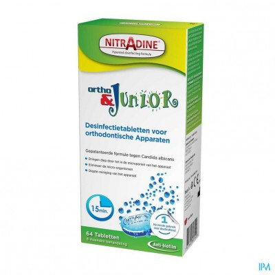 Nitradine Ortho & Junior Tabl 64