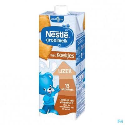 Nestle Groeimelk 1+ Koekjes Tetra 1l