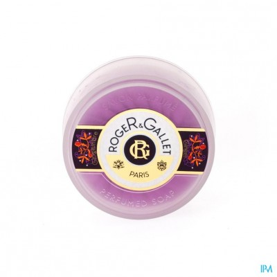 Roger&gallet Gingembre Zeep Travel Box 100g
