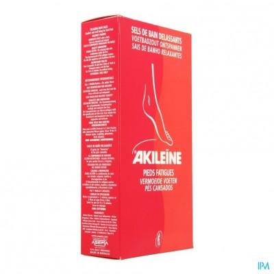 Akileine Rood Badzout Voeten Zakje 2x150g 101220