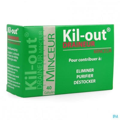 Kil Out Drainerend Afslankingsmiddel Caps 40