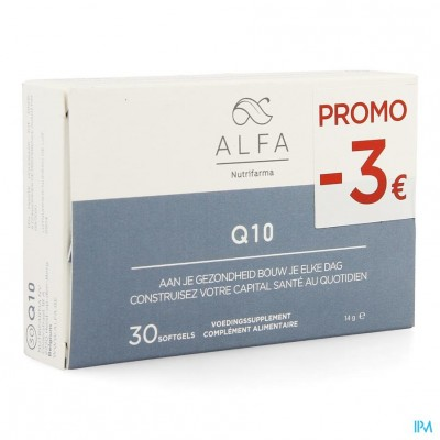 Alfa Q10 Softgels 30 Promo -3€
