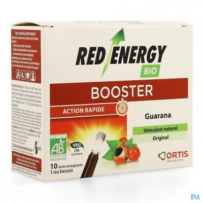 Ortis Red Energy Bio Alc 10x15ml