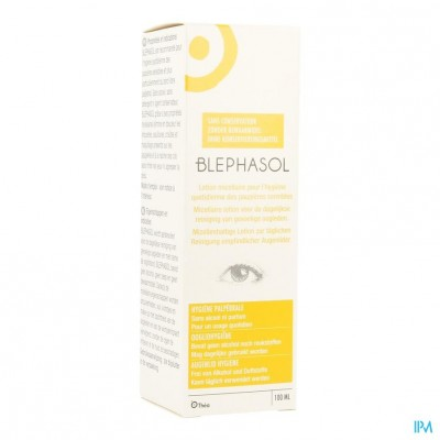 Blephasol Reinigingslotion Steriel Oogleden 100ml