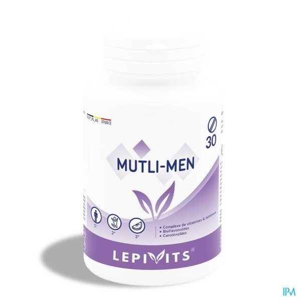 Lepivits Multi Men Activ Potcomp 30