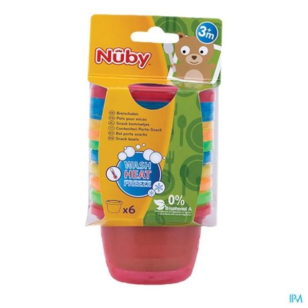 Nûby Snackkommetjes - 120 ml - 3m+